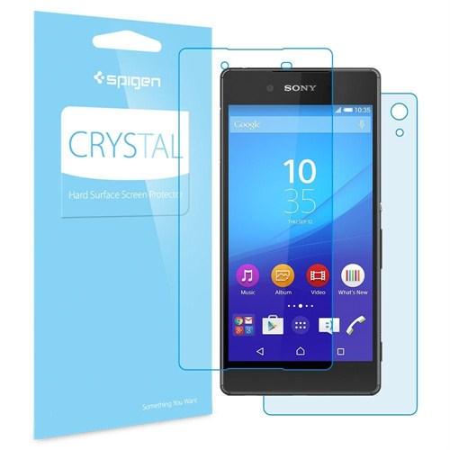 Spigen Sgp Sony Xperia Z3+ Plus Ekran Koruyucu LCD Crystal CR (3 Adet) - SGP11538