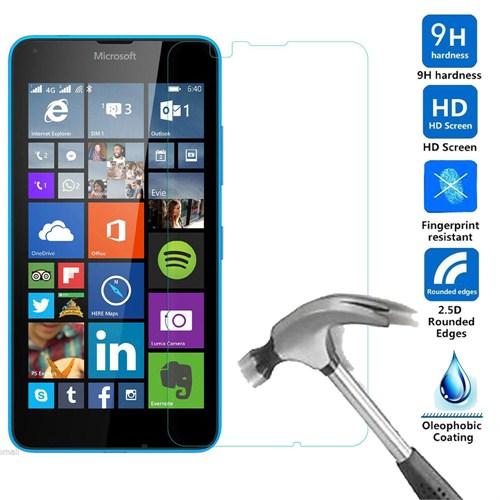 Case 4U Microsoft Lumia 640 Kırılmaz Cam Ekran Koruyucu