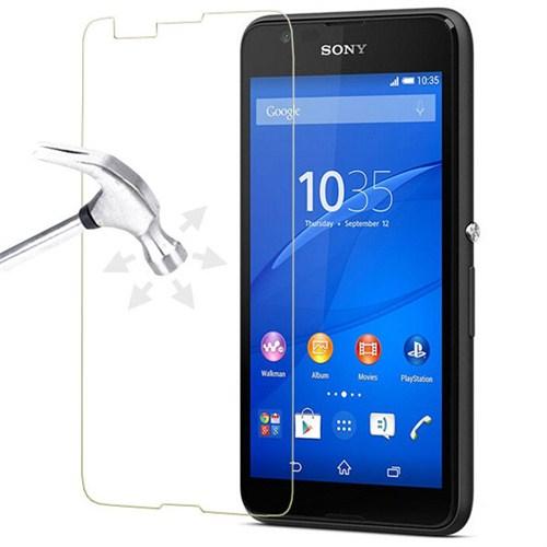 CoverZone Sony Xperia E4 Tepmerli Cam Filmi