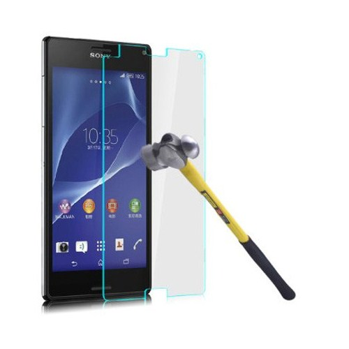 CoverZone Sony Xperia Z3 Temperli Cam Filmi
