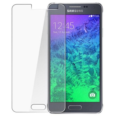 CoverZone Samsung Galaxy Alpha Temperli Cam Filmi