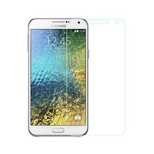 CoverZone Samsung Galaxy E7 Temperli Cam Filmi