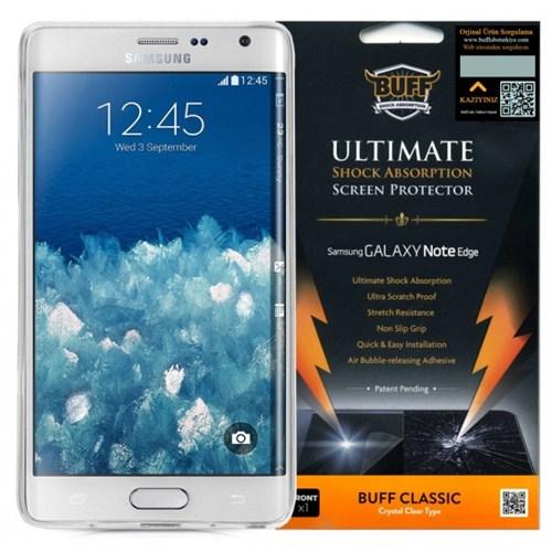 Buff Samsung Galaxy Note Edge Darbe Emici Ekran Koruyucu Film