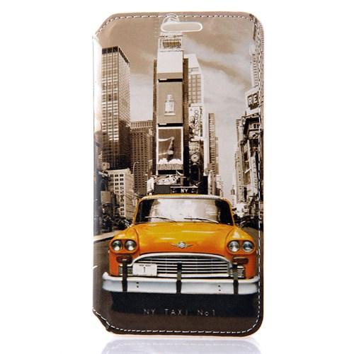 CoverZone Samsung Galaxy A3 Kılıf Newyork Taksi