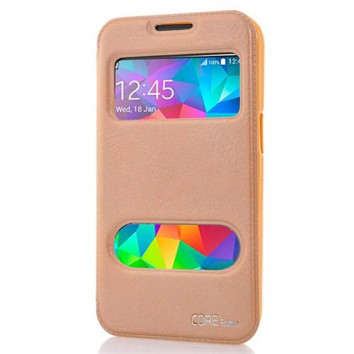 CoverZone Samsung Galaxy Core Prime Kılıf Vantuzlu Standlı Dore