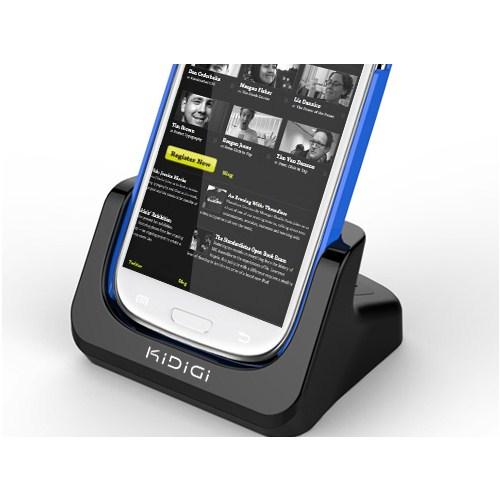 CoverZone Kidigi Samsung Galaxy S3 Masaüstü Şarj Ve İkinci Pil Şarj