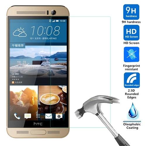 Case 4U HTC One M9+ Plus Kırılmaz Cam Ekran Koruyucu