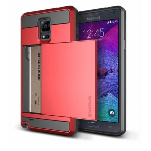 VERUS Samsung Galaxy Note 4 Verus Damda Slide Crimson Red