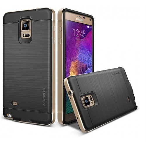 VERUS Samsung Galaxy Note 4 Verus New Iron Shield Gold