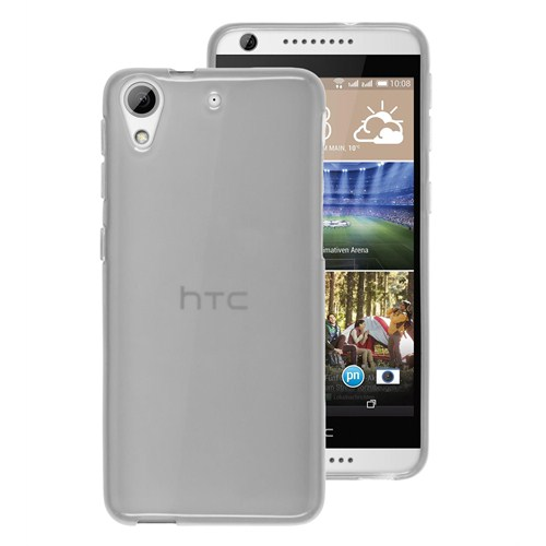 Microsonic Transparent Soft Htc Desire 626 Kılıf Beyaz