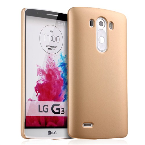 Microsonic Premium Slim Kılıf Lg G3 Gold