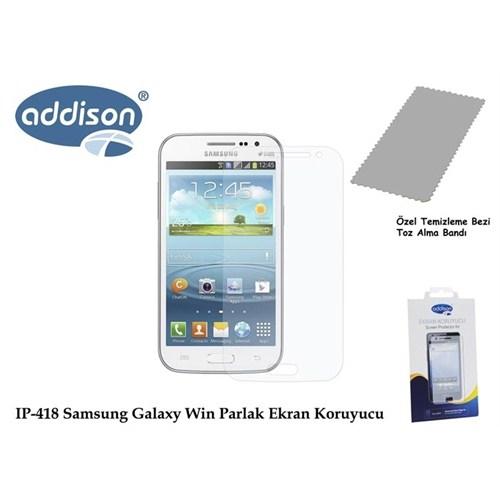 Addison Ip-418 Samsung Galaxy Win Ultra Şeffaf Ekran Koruyucu