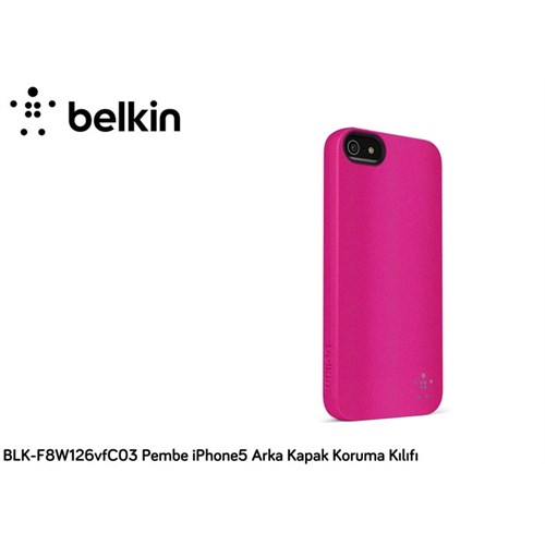 Belkin Blk-F8w126vfc03 Pembe İphone5 Arka Kapak Koruma Kılıfı