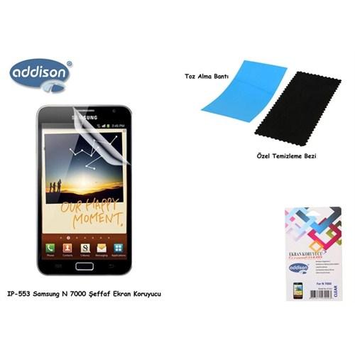 Addison Ip-553 Samsung Galaxy Note Parlak Ekran Koruyucu