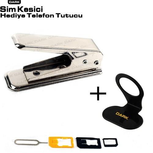 Dark Sim Kart Kesici & Dönüştürücü + (Telefon Tutucu Hediyeli) - (DK-AC-CPNANOSIM)