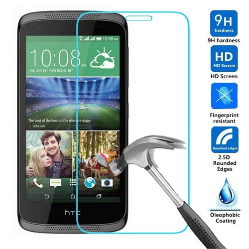 Case 4U HTC 526 Dual Sim Kırılmaz Cam Ekran Koruyucu