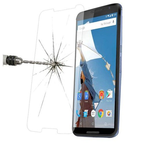 Markacase Lg Nexus 6 Tempered Cam 0.26 Mm Kırılmaz Ultra İnce