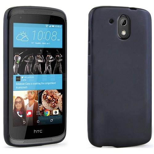 Case 4U HTC 526 Dual Sim Ultra İnce Silikon Kılıf Siyah