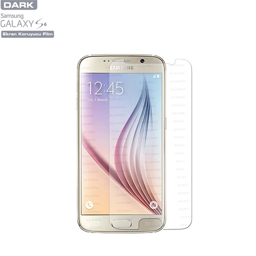 Dark Samsung Galaxy S6 Ultra Şeffaf Ekran Koruyucu 2 Adet (DK-AC-CPSMS651)