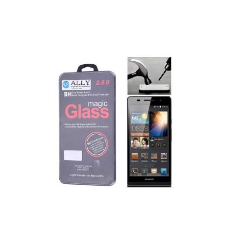 Ally Huawei Ascend P6 Magic Glass Tempered Kırılmaz Cam Ekran Koruyucu