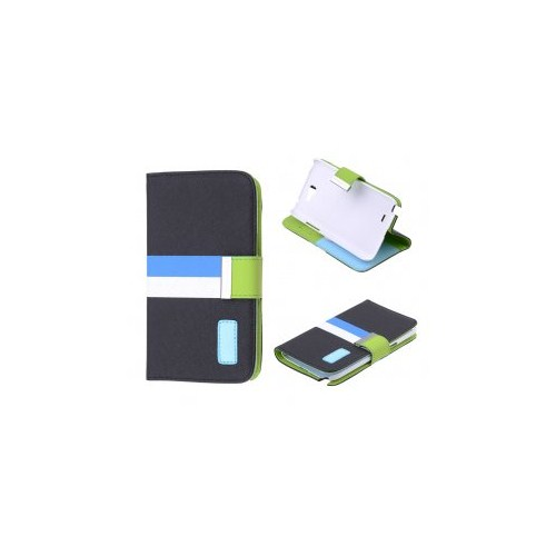 Ally Samsung N7100 Galaxy Note 2 Standlı Cüzdan Kılıf
