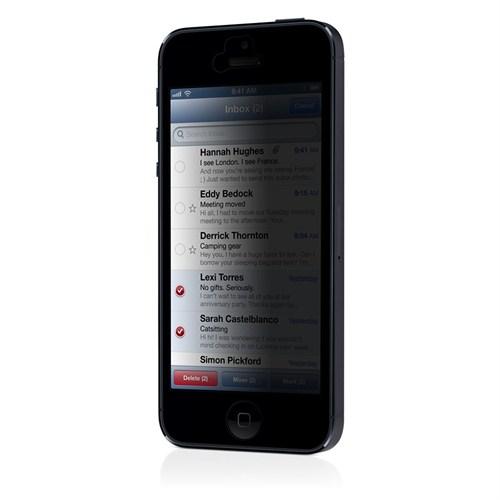 3M İphone 5 Ekran Filmi-Mat Ekran Gizleme Özelliği