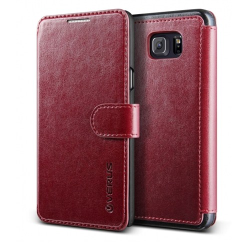 Verus Samsung Galaxy Note 5 Kılıf Dandy Layered Series Wine