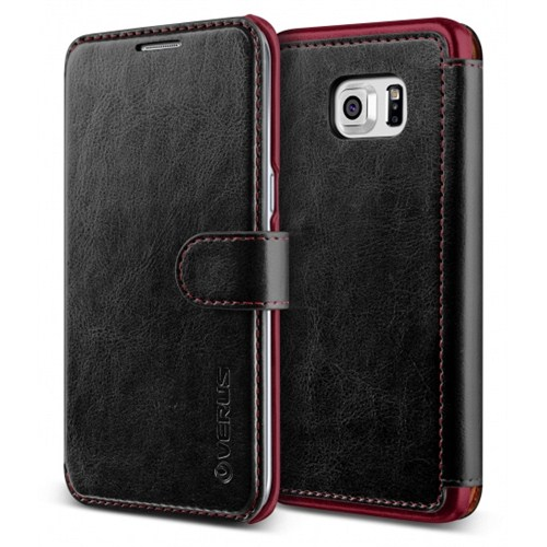 Verus Samsung Galaxy S6 Edge Plus Kılıf Dandy Layered Series Black
