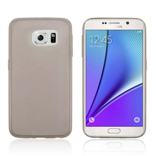CoverZone Samsung Galaxy Note 5 Kılıf 0.3Mm Silikon Antrasit