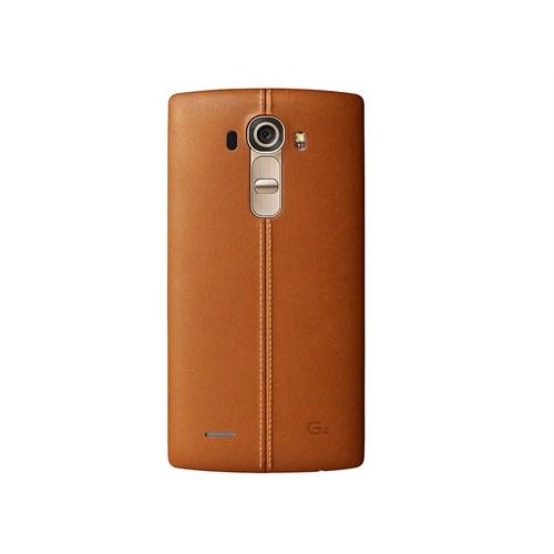 LG G4 Kahverengi Deri Kılıf