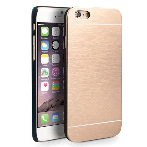 Microsonic İphone 6 Kılıf Hybrid Metal Gold
