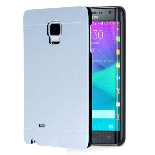 Microsonic Samsung Galaxy Note Edge Kılıf Hybrid Metal Gümüş