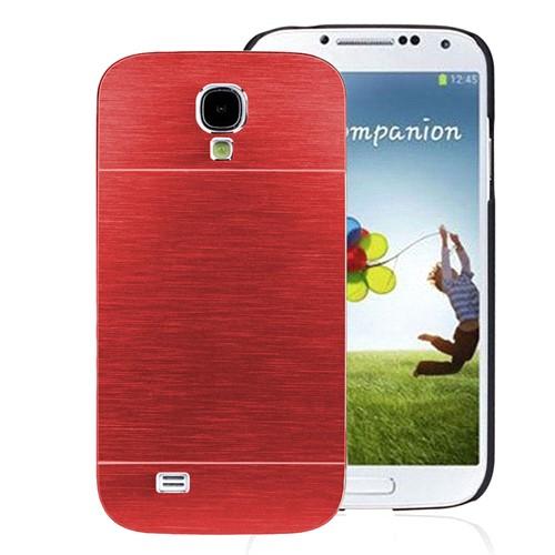 Microsonic Samsung Galaxy S4 Kılıf Hybrid Metal Kırmızı