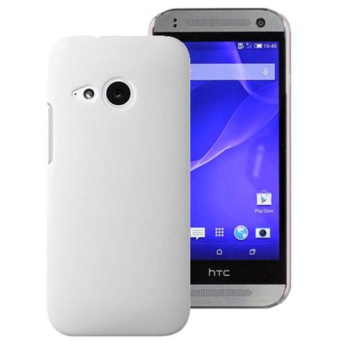 Microsonic Htc One Mini 2 (M8 Mini) Kılıf Premium Slim Beyaz