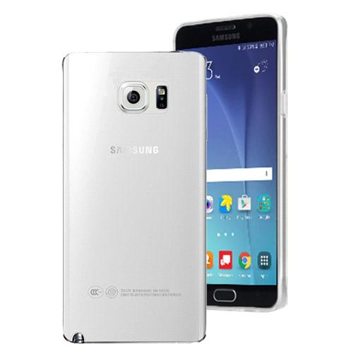 Microsonic Samsung Galaxy Note 5 Kılıf Transparent Soft Beyaz