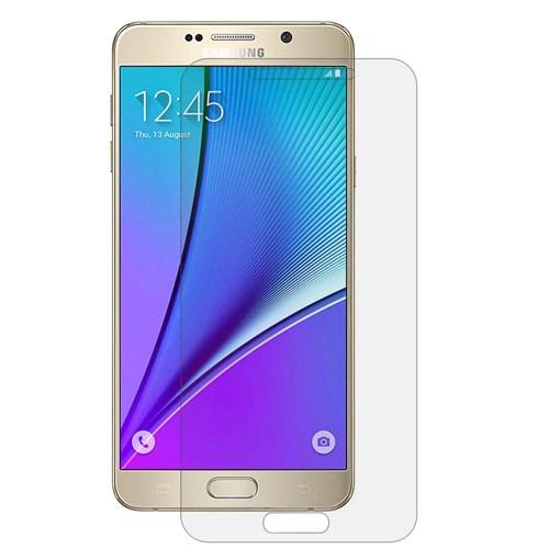 Microsonic Samsung Galaxy Note 5 Ultra Şeffaf Ekran Koruyucu Film