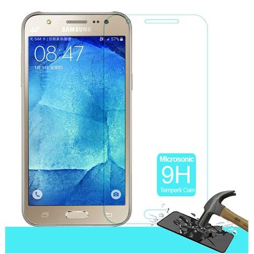 Microsonic Samsung Galaxy J7 Temperli Cam Ekran Koruyucu Kırılmaz Film