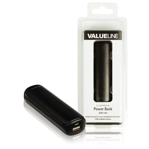 Valueline 2200 Mah Powerbank Siyah