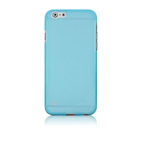 Ahha İphone 6 Plus 5.5 Moya Gummi Shell Tinted Blue