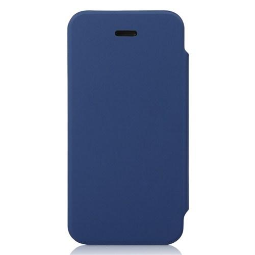 Ahha İphone 5,5S Wallin Detachable Flip Case Ocean Blue