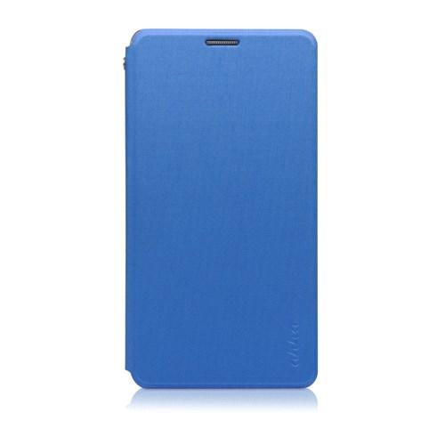 Ahha Samsung Galaxy Note 4 Norris Skinny Flip Case Lagoon Blue
