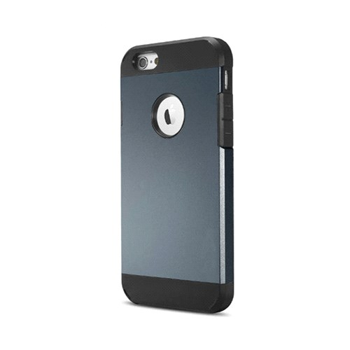 Cesim Apple iPhone 6 Hard Case Arka Kapak Füme