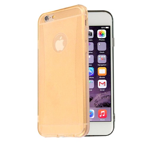 Cesim Apple iPhone 6 Sandy Silikon Kılıf Şeffaf