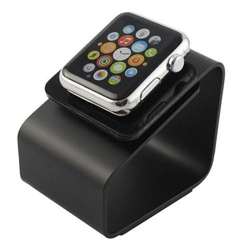 Case 4u Apple Watch Metal Stand Siyah