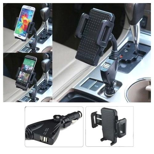Araç İçi Çakmaklık Spiral Boru Telefon Şarj Cihazı