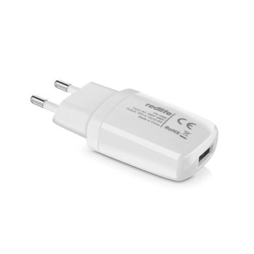 Redlife iPhone 5/6/iPad Tek USB Girişli 1A Duvar Şarjı Beyaz - AGDS01071