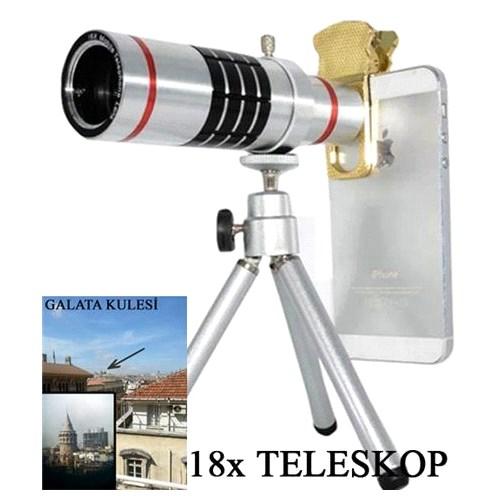 18X Zoom Teleskop Telefon Kamera Lensi
