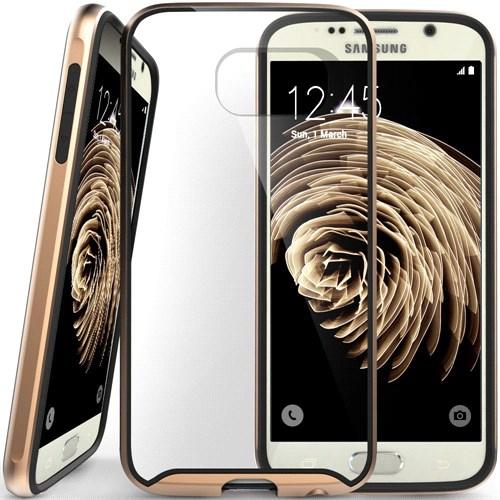 Caseology Samsung Galaxy S6 Waterfall Series Kılıf Altın