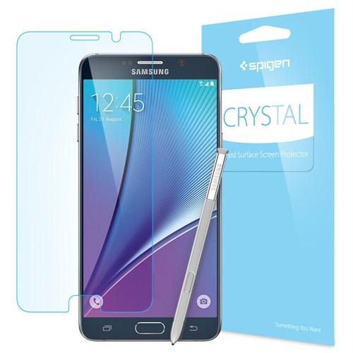 Spigen Sgp LCD Film Crystal CR for Galaxy Note 5 Ekran Koruyucu - SGP11678 (3 Adet)