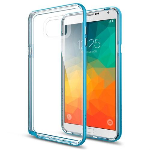 Spigen Samsung Galaxy Note 5 Kılıf Neo Hybrid Crystal Metal Blue - SGP11712